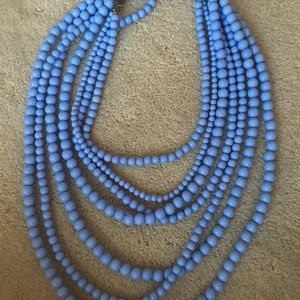Jewelry - Light blue beaded necklace